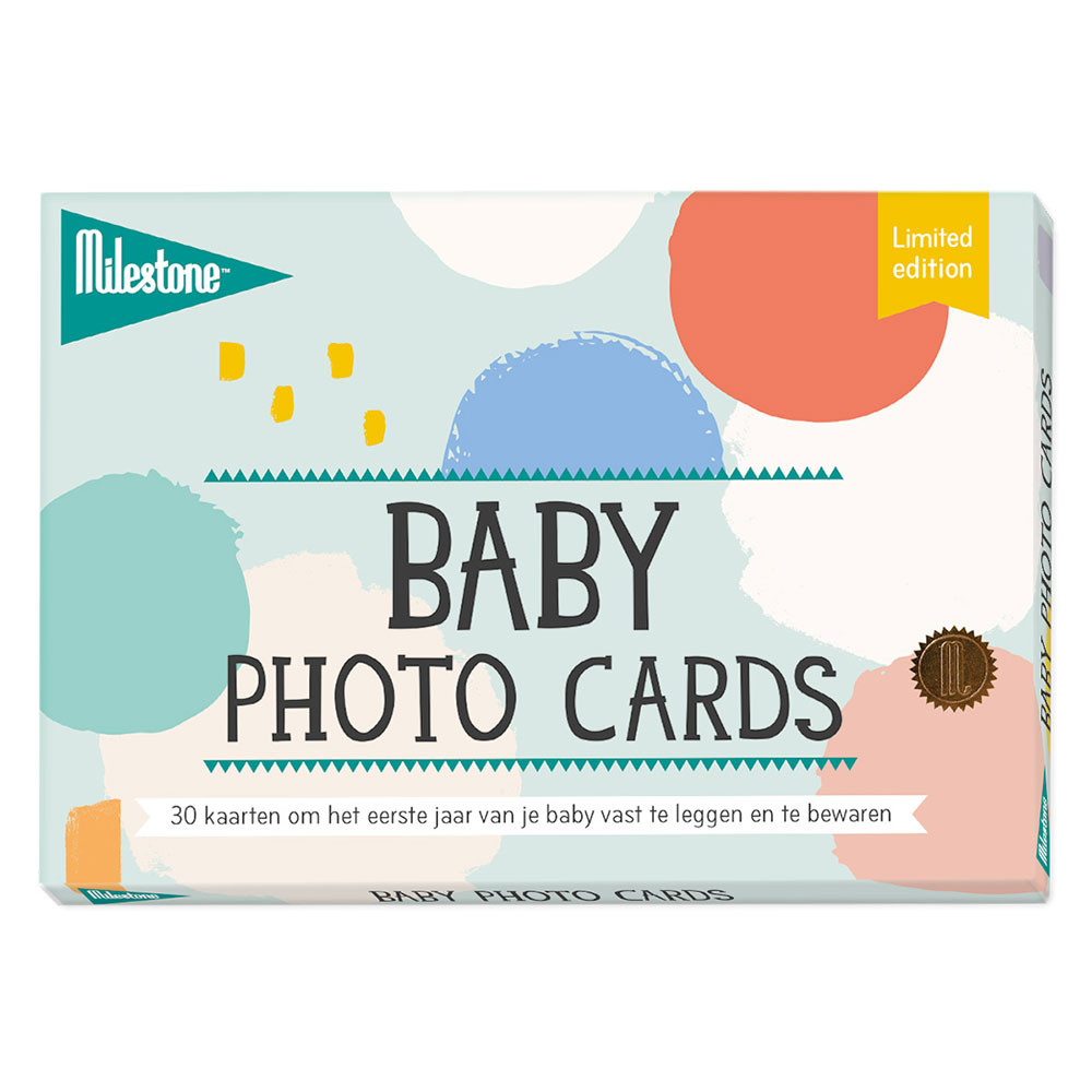Milestone ´limited edition baby cards´