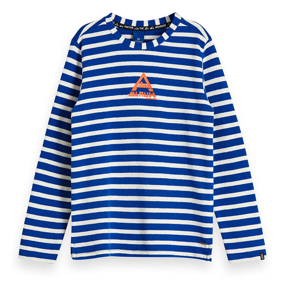 Scotch & Soda jongens trui blauw