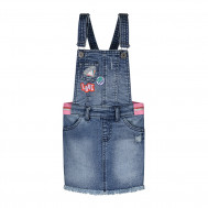 Quapi denim salopette jurk