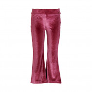 LE BIG velvet flared pants