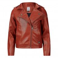 Retour leatherlook jacket