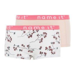 Name It meisjes hipster Nmfhipster2paop roze/wit