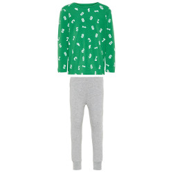 Name It jongens pyjama Nkmnightset groen