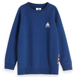 Scotch & Soda jongens sweater blauw