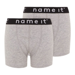 Name It boxer Nkmboxer2psolid grijs