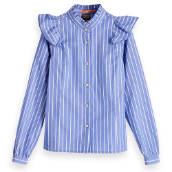 Scotch R'Belle blouse blauw