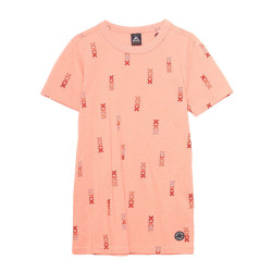 Scotch & Soda jongens shirt oranje