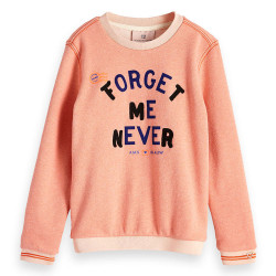 Scotch R'Belle meisjes sweater roze