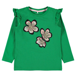 Name It meisjes shirt NMFTadi groen