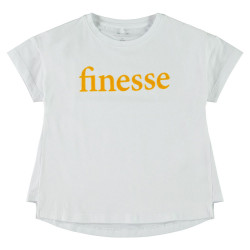 Name It meisjes shirt Nkftinkan wit