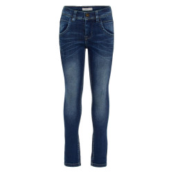 Name It jongens jeans Nkmsilas blauw