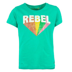 Stones and Bones meisjes shirt Suzette Rebel groen