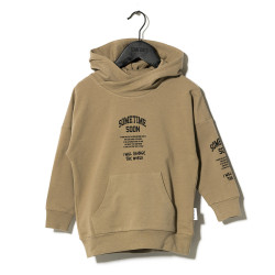 Sometime Soon hooded sweater