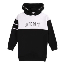 DKNY hooded sweatdress