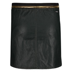 Retour leather look rok