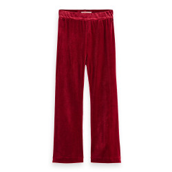 Scotch R'Belle flared velvet legging