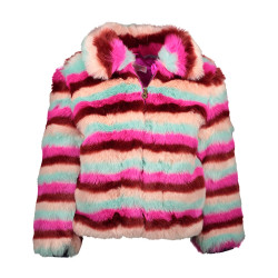 Kidz Art fake fur winterjas