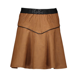 NoBell leather-look rok