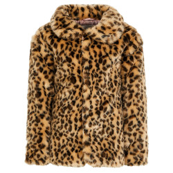 Name It fake fur winterjas volwassen