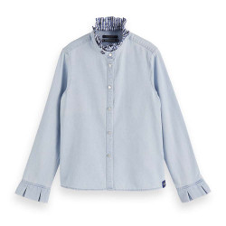 Scotch R'Belle spijkerblouse