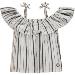 Tumble 'n Dry off shoulder shirt