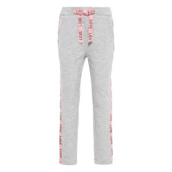 Name It meisjes sweatpants Nmfbadulle grijs