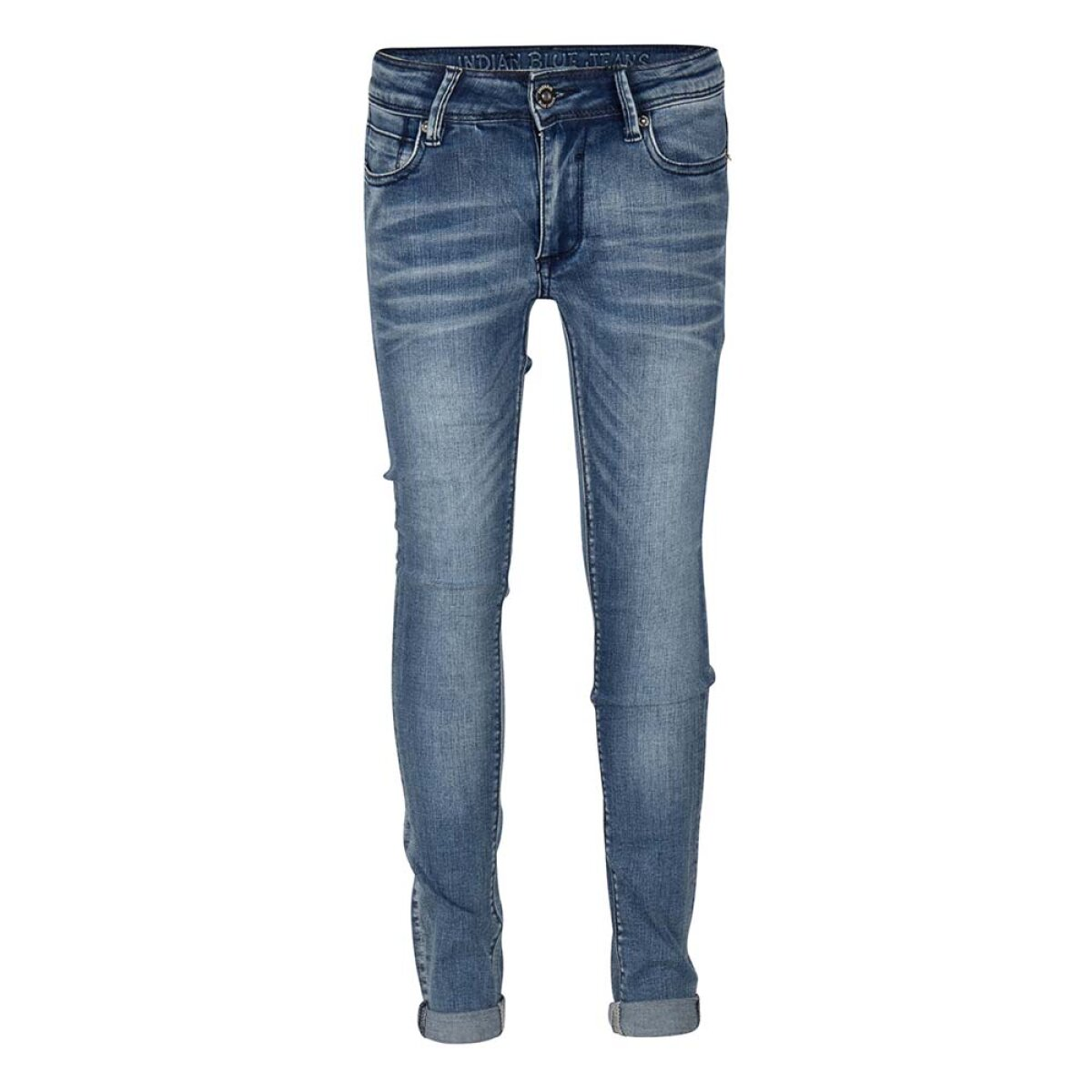 Indian Blue Jeans jongens jeans IBB21-2802 blauw