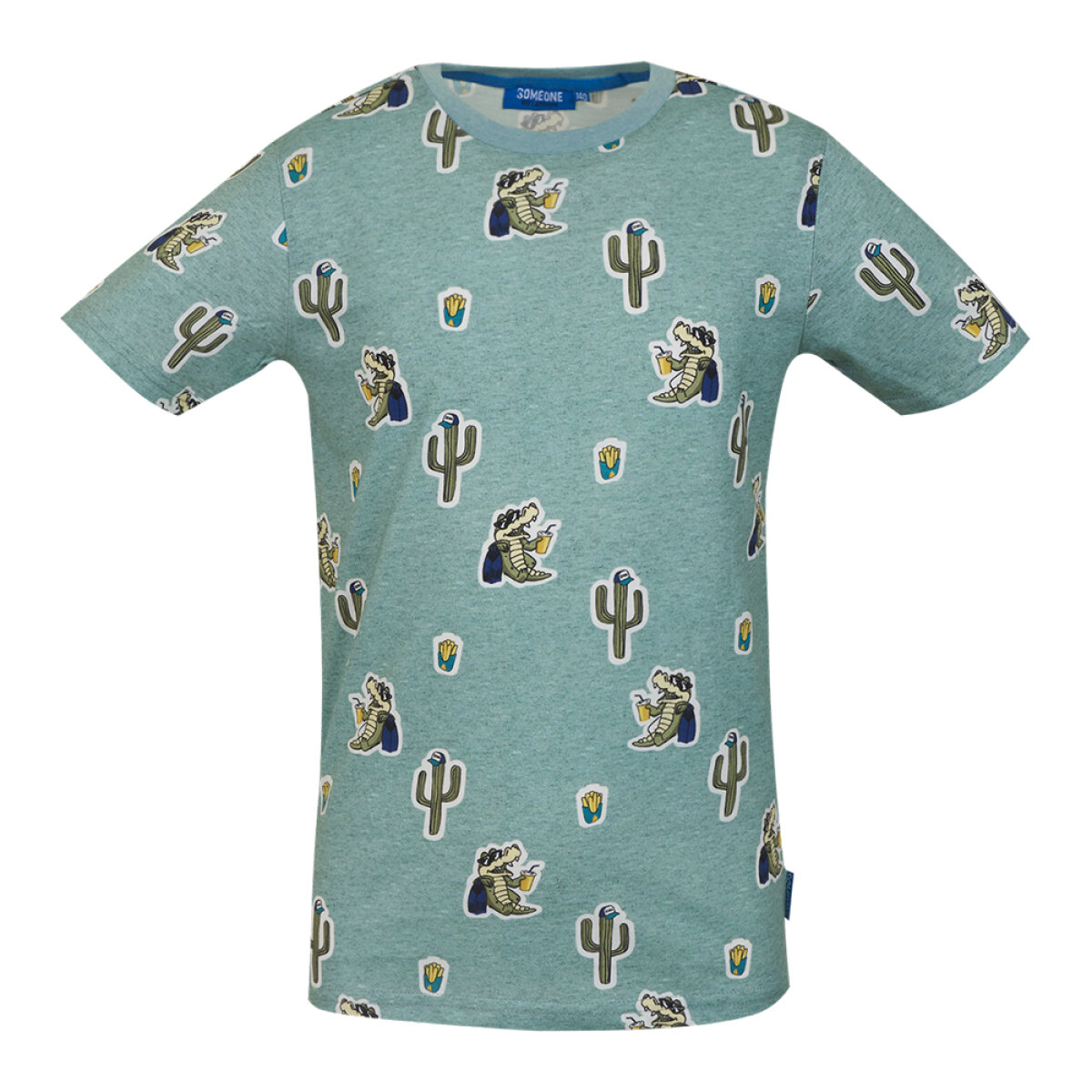 Someone jongens shirt TAKE-SB-02-B groen