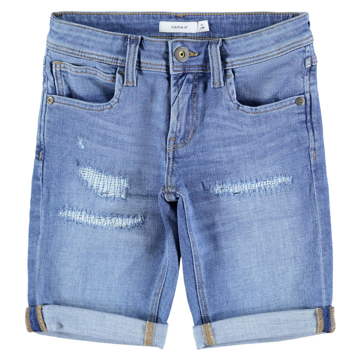 Name It jongens jeans short 13190026 blauw