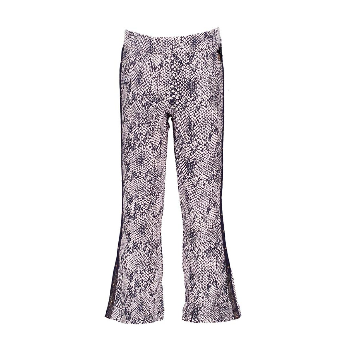 Le Chic meisjes flaired pants C001-5634 blauw