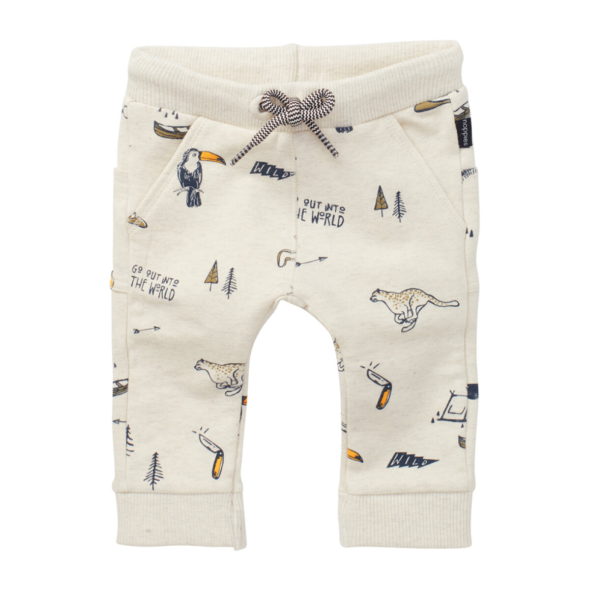 Noppies jongens broek 1411127 off-white