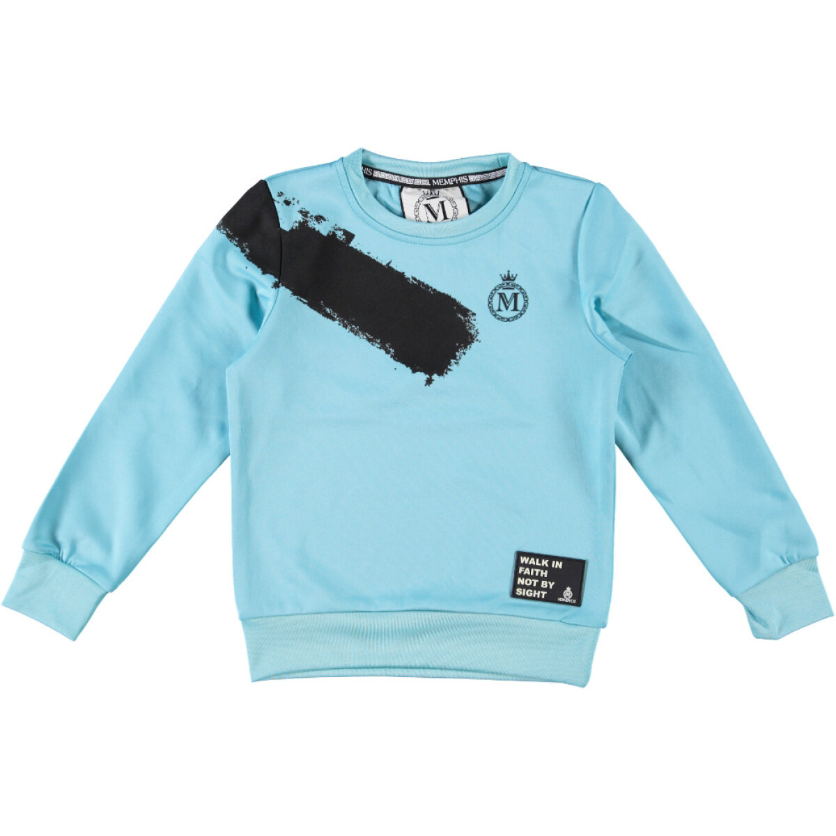 Memphis by Vingino jongens sweater Namos blauw