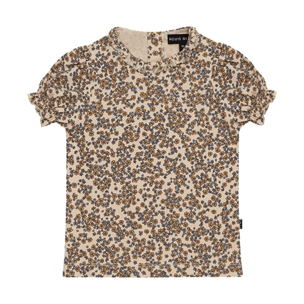 House Of Jamie meisjes shirt 04240524 beige