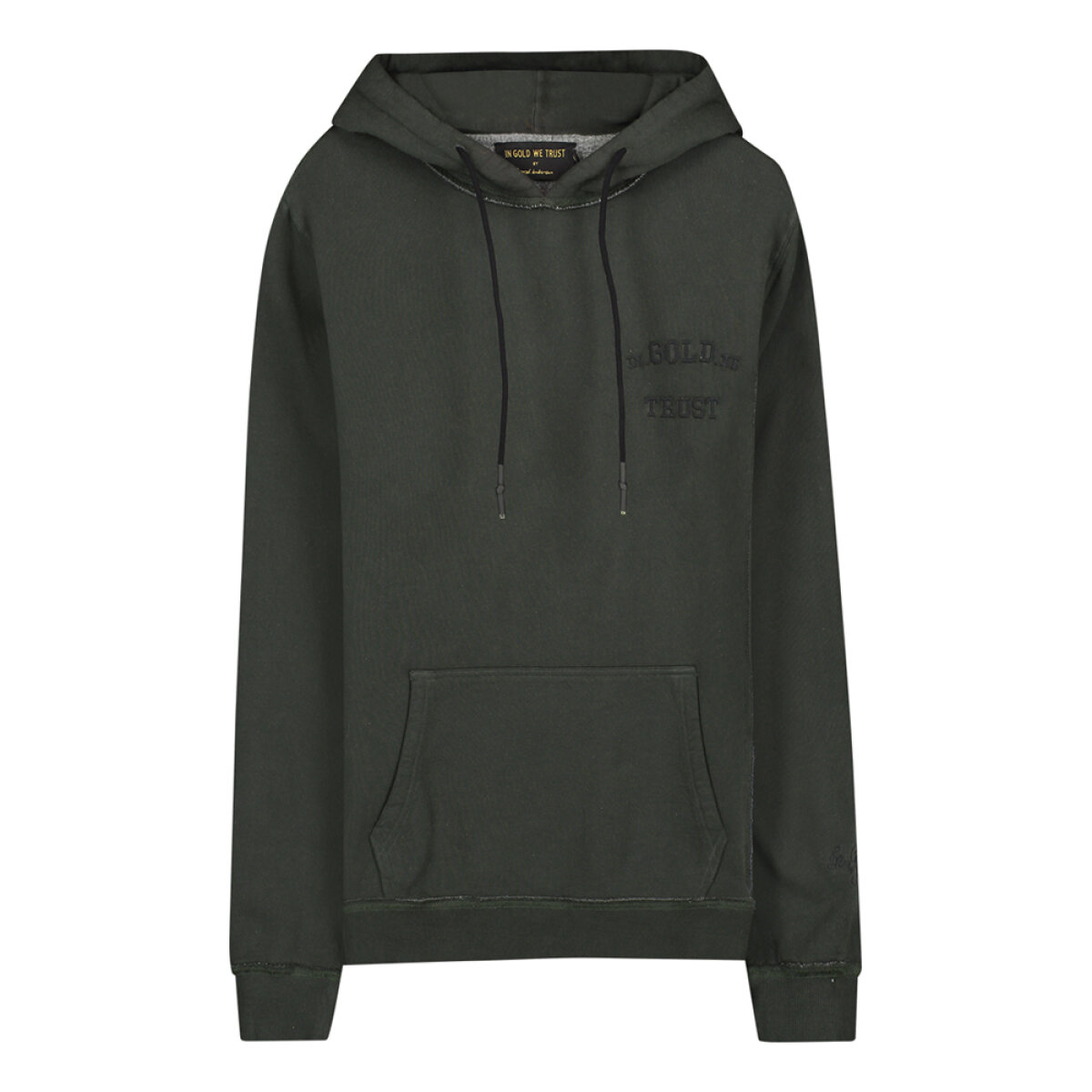 In Gold We Trust hooded sweater IGWTKIDSH-006/KIDSREAKWON groen