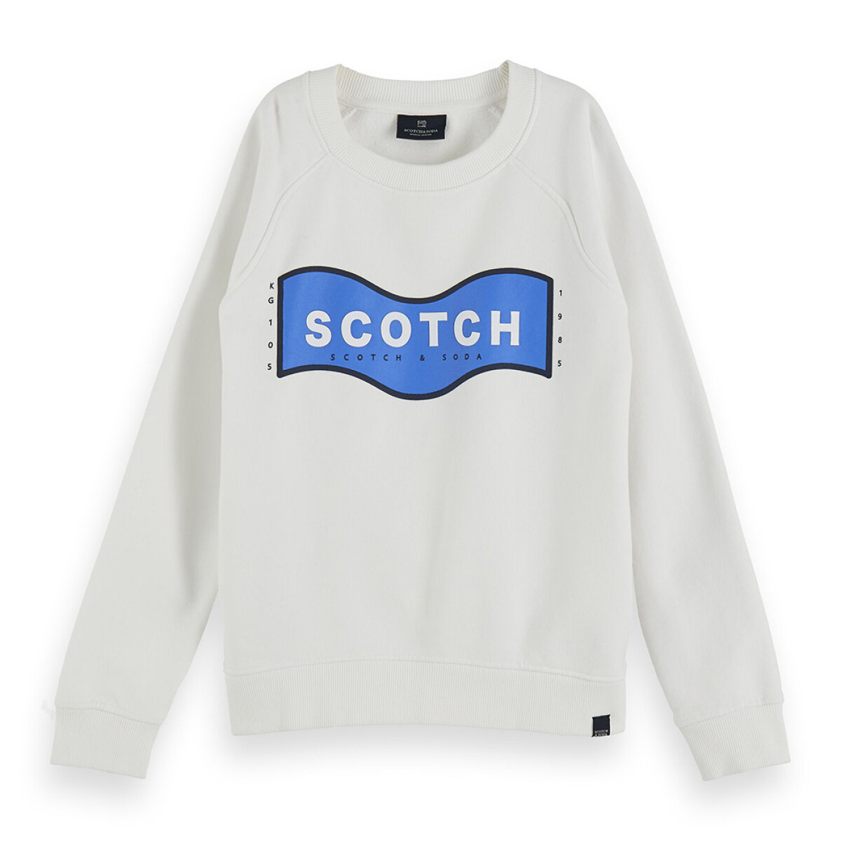Scotch & Soda jongens sweater 157231 wit