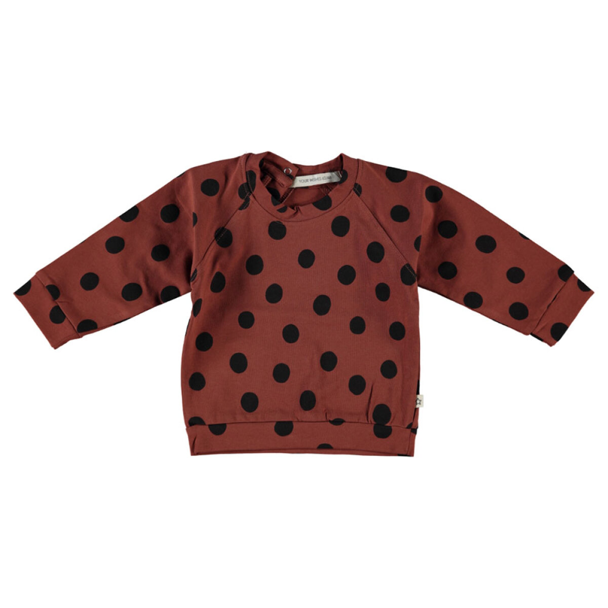 Your Wishes meisjes sweater YWNOXX-244ST bruin