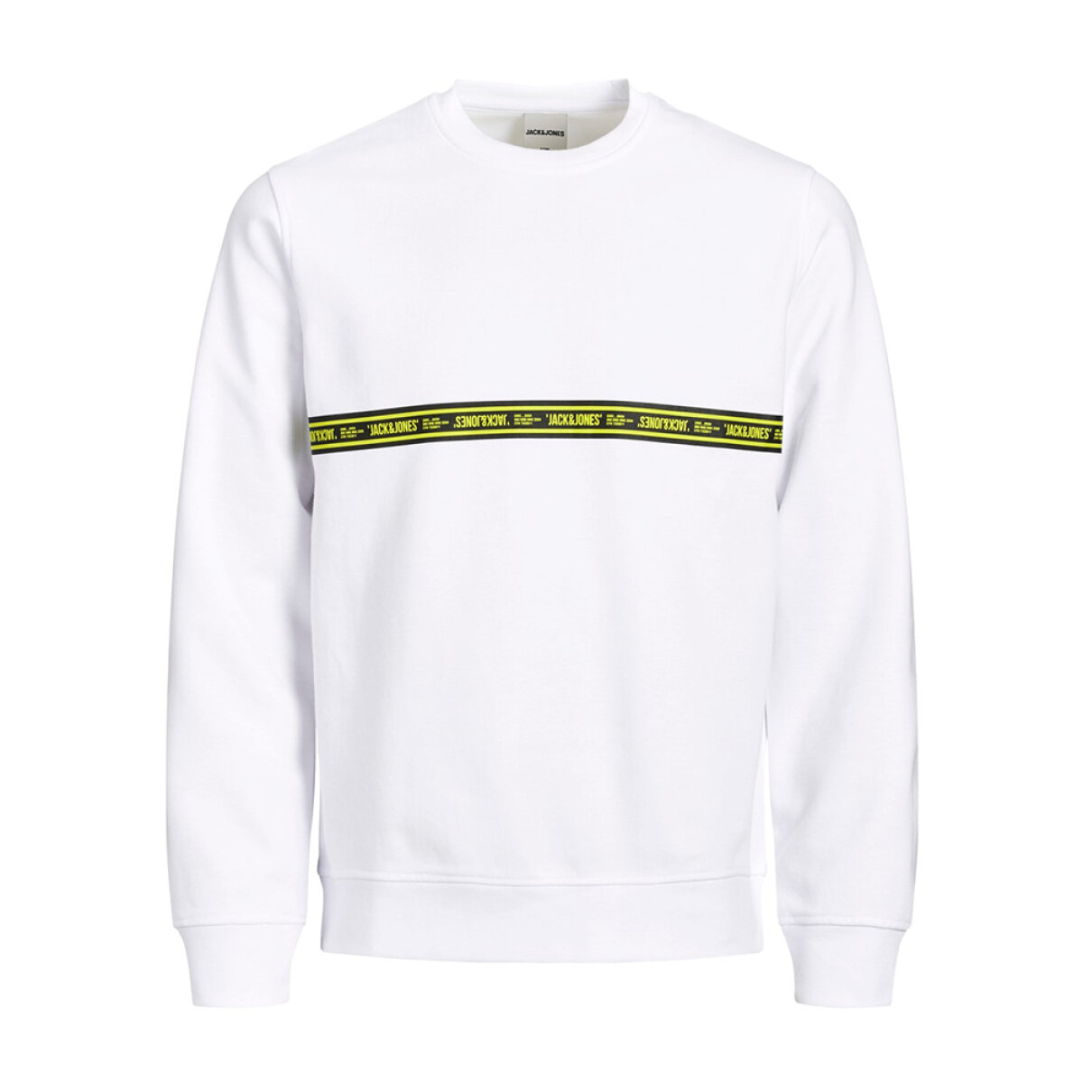Jack & Jones jongens sweater JCOTOFFEE wit