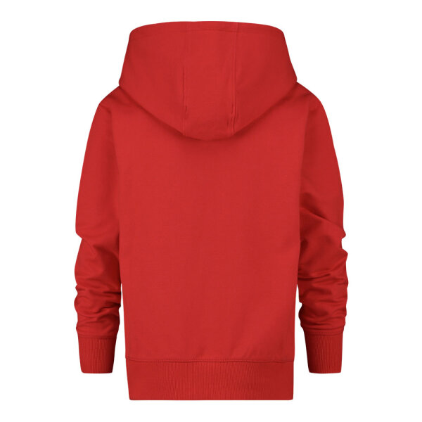 Vingino jongens hooded sweater Mumfry rood