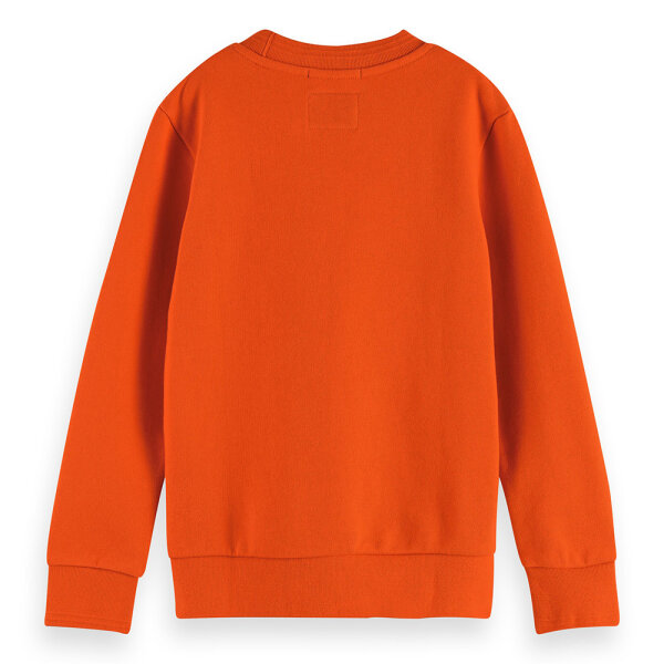 Scotch & Soda jongens sweater 161086 rood