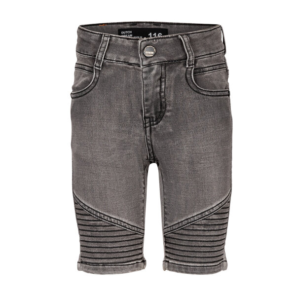 Dutch Dream Denim jongens jeans short SS21-39 grijs