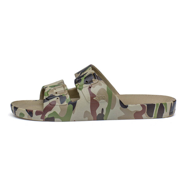 Moses unisex slippers Army groen