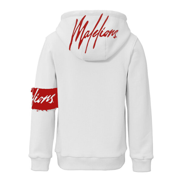 Malelions hooded sweater MJ-SS21-1-01 wit