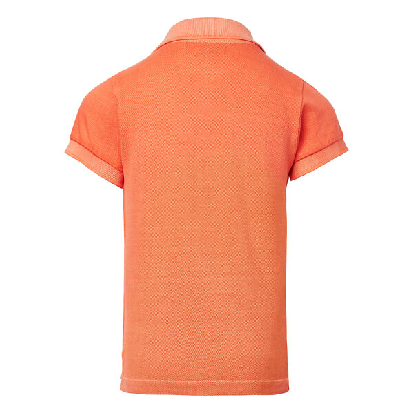 Noppies jongens polo shirt 1530016 oranje