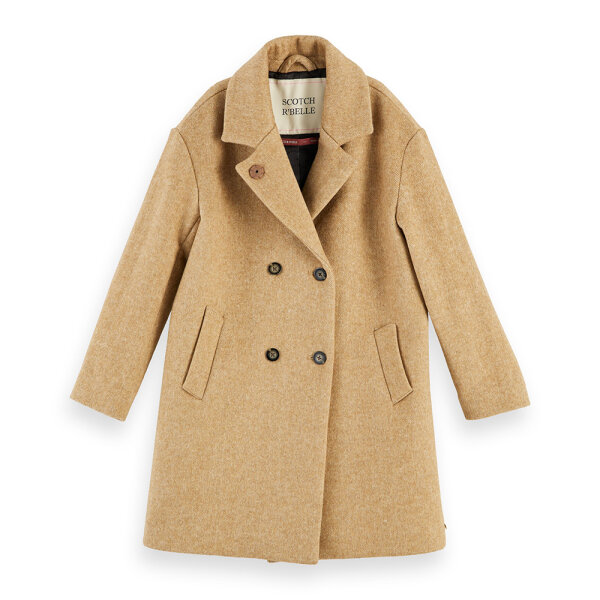 Scotch & Soda meisjes winterjas 157915 beige