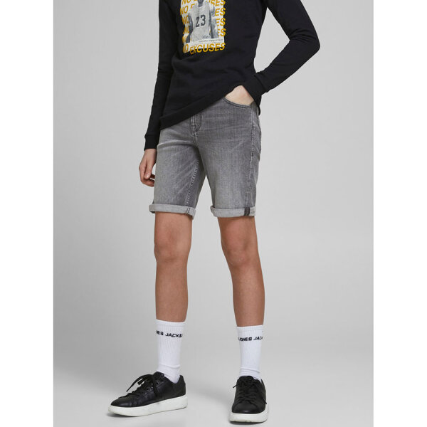Jack & Jones jongens short 12189758/JJIRICK grijs