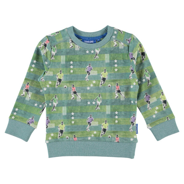 Someone jongens sweater SCORE-SB-16-E groen