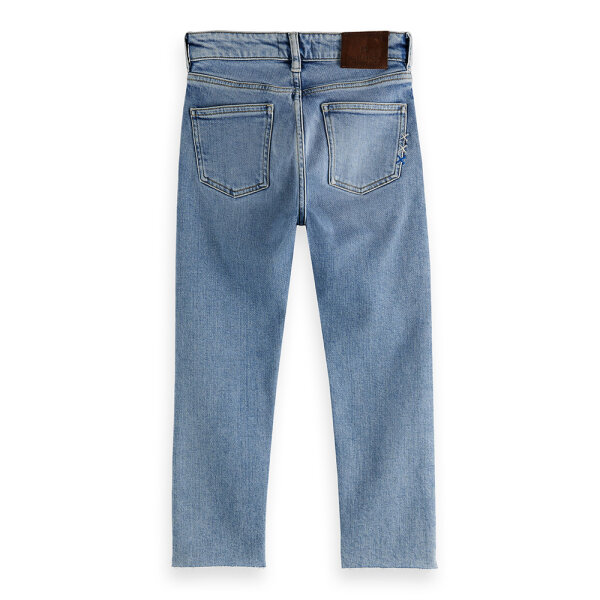 Scotch & Soda jongens jeans 160063 blauw