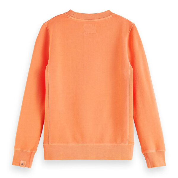 Scotch & Soda jongens sweater 161075 oranje