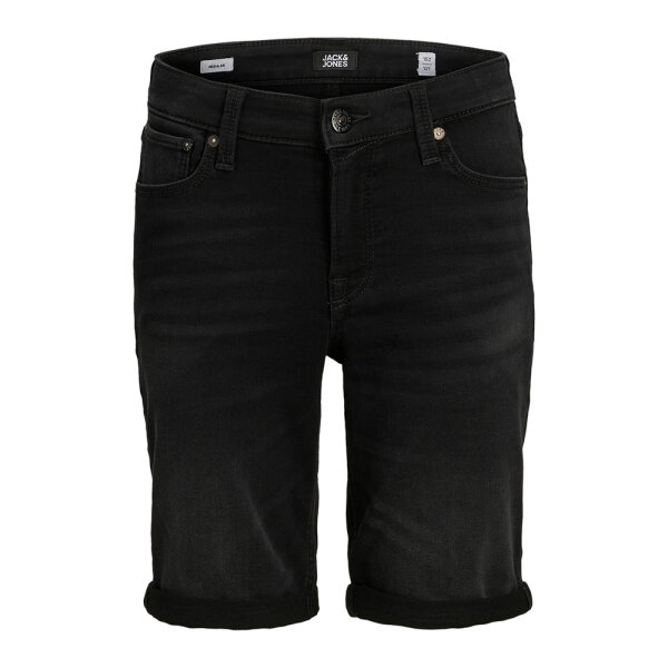 Jack & Jones Junior jongens jeans short JJIRICK zwart
