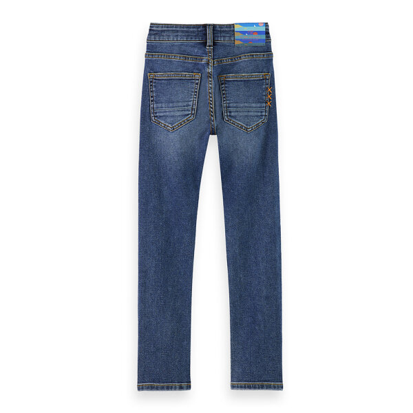 Scotch & Soda jongens jeans 160390/3673 blauw